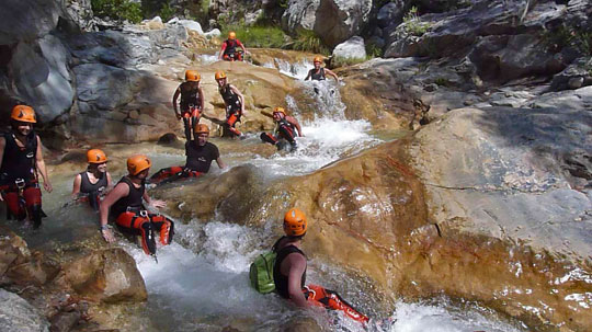 Video Canyoning Rio Verde